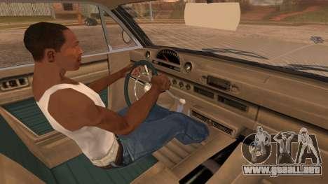 GTA 5 Declasse Clean Voodoo IVF para la visión correcta GTA San Andreas