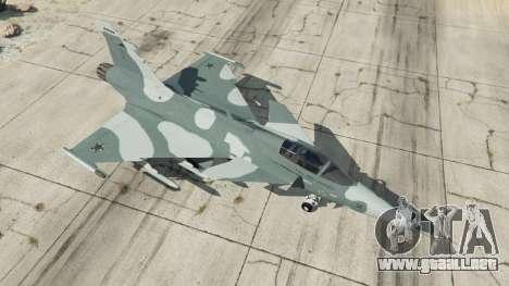 GTA 5 Saab JAS 39 Gripen NG FAB [Beta] cuarto captura de pantalla