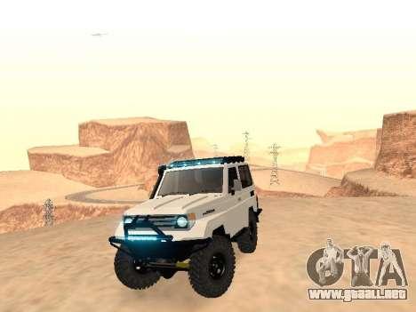 Toyota Machito Off-Road (IVF) 2009 para la visión correcta GTA San Andreas
