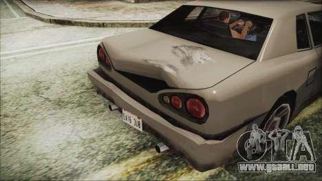 Archivo nuevo Vehículo.txd para GTA San Andreas sucesivamente de pantalla