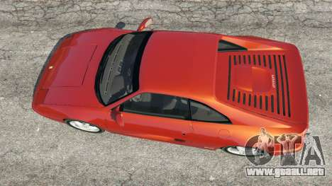 GTA 5 Ferrari F355 vista trasera