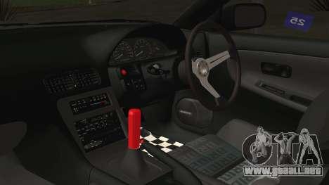 Nissan 180SX Rocket Bunny Edition para la visión correcta GTA San Andreas