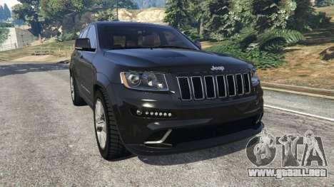 Jeep Grand Cherokee SRT8 2013 para GTA 5