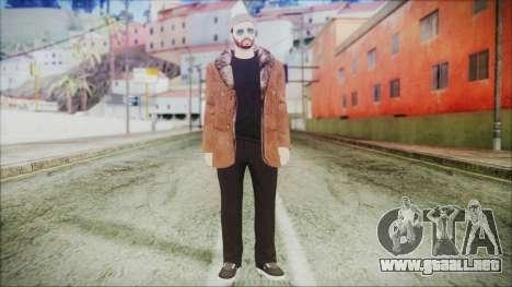 GTA Online Skin 30 para GTA San Andreas segunda pantalla