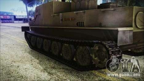 BTR-50 para GTA San Andreas vista posterior izquierda
