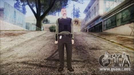 GTA 5 Ammu-Nation Seller 2 para GTA San Andreas segunda pantalla