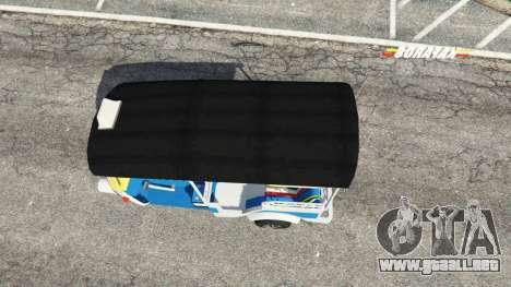 GTA 5 Tuk-Tuk vista trasera