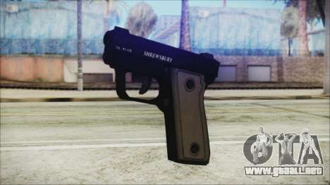 GTA 5 SNS Pistol v3 - Misterix Weapons para GTA San Andreas