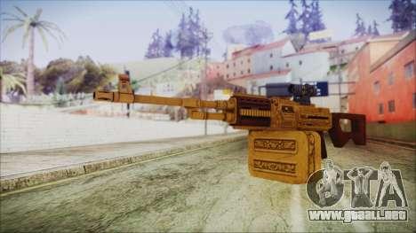 GTA 5 MG from Lowrider DLC para GTA San Andreas