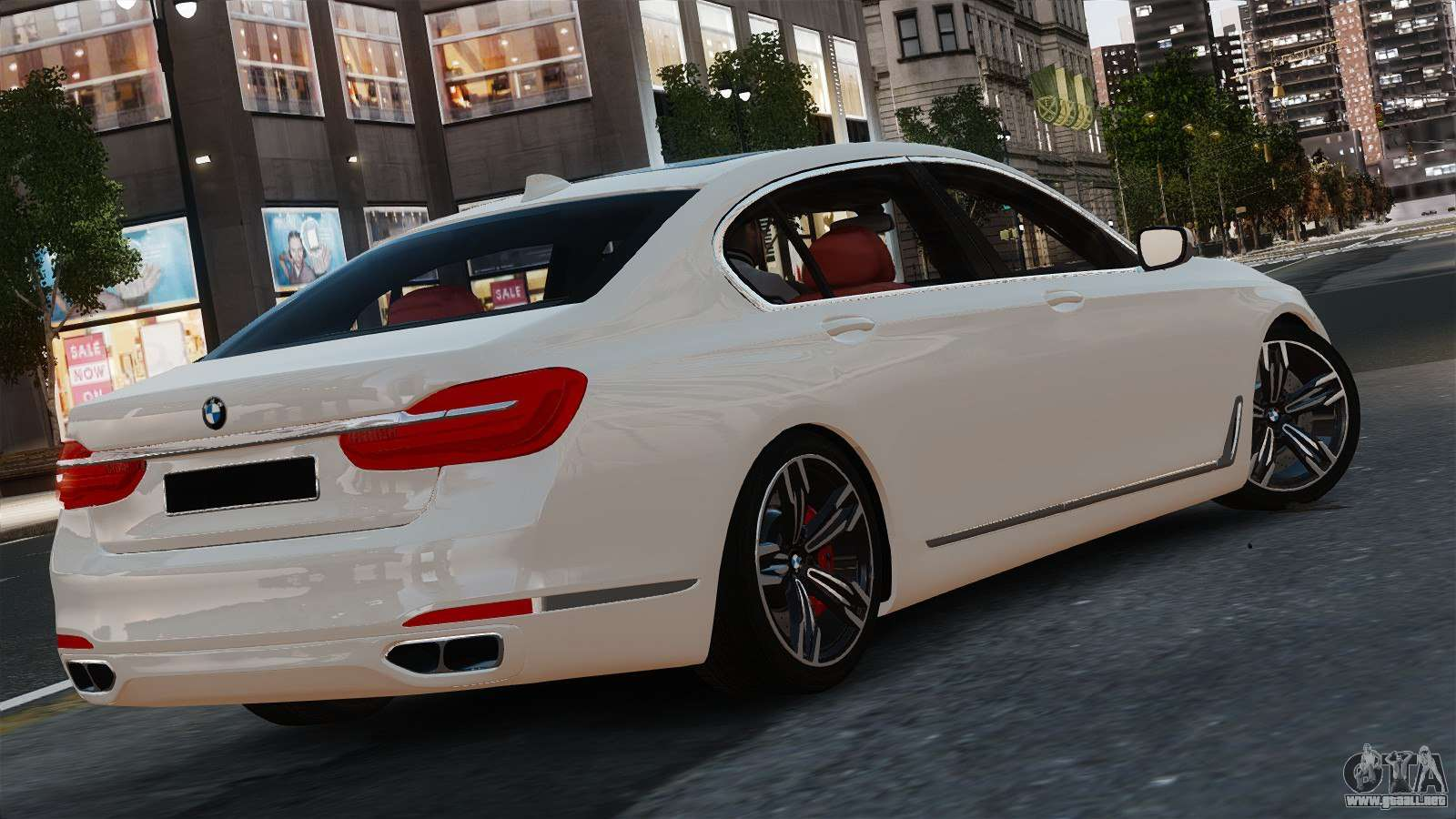 bmw 7 er 2016 para gta 4. Black Bedroom Furniture Sets. Home Design Ideas