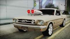 Ford Mustang Fastback 1966 Chrome Edition para GTA San Andreas
