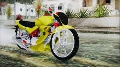 Yamaha Tuning Full Cromo para GTA San Andreas