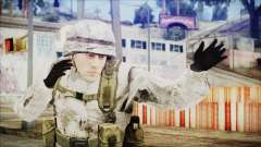 World In Conflict US Marine Winter para GTA San Andreas