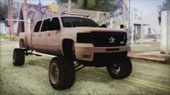 Chevrolet Silverado Triple Door para GTA San Andreas