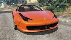 Ferrari 458 Italia Spider [LibertyWalk] para GTA 5