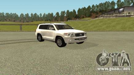Toyota Land Cruiser 200 Bulkin Edition para GTA San Andreas