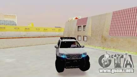 Toyota Fortuner 4WD 2015 Rustica V2 para GTA San Andreas