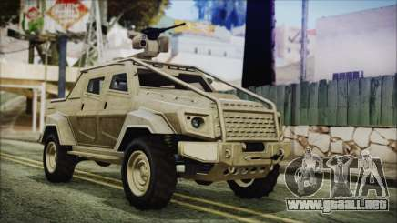GTA 5 HVY Insurgent Pick-Up para GTA San Andreas