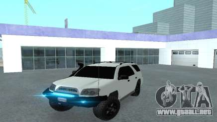 Toyota 4runner 2008 semi-off_road LED para GTA San Andreas