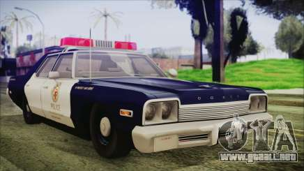 Dodge Monaco 1974 LSPD General Duties Unit para GTA San Andreas