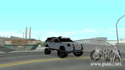Chevrolet Luv D-MAX 2015 OFF-ROAD ALL-TERRAIN para GTA San Andreas