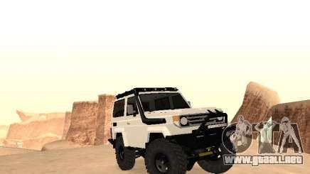 Toyota Machito Off-Road (IVF) 2009 para GTA San Andreas