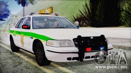 Ford Crown Victoria Miami Dade v2.0 para GTA San Andreas