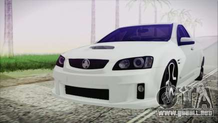 Holden Commodore SS Ute 2012 para GTA San Andreas