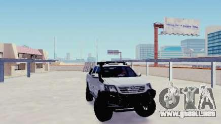 Toyota Hilux Rustica v2 2015 para GTA San Andreas