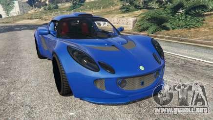Lotus Exige 240 2008 para GTA 5