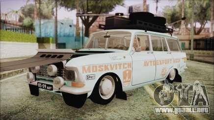 Moskvich 427 Rally v0.5 para GTA San Andreas