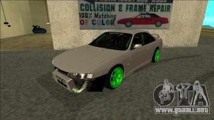Nissan Silvia S14 Drift Monster Energy para GTA San Andreas