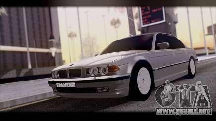 BMW 7-er E38 para GTA San Andreas