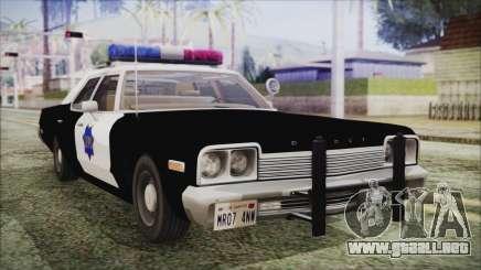 Dodge Monaco 1974 SFPD para GTA San Andreas