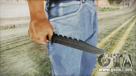 GTA 5 Knife v2 - Misterix 4 Weapons para GTA San Andreas