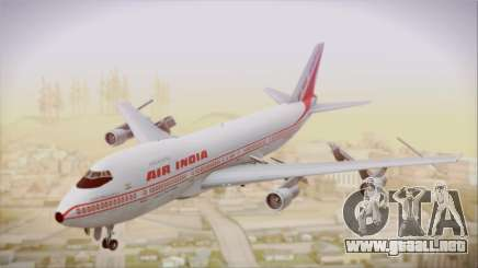 Boeing 747-237Bs Air India Samudragupta para GTA San Andreas