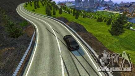 Passo Del Stelvio Pista para GTA 4