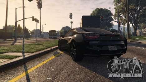 GTA 5 2015 BMW I8 vista trasera