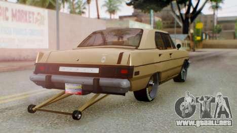 Dodge Dart 1975 Estilo Drag para GTA San Andreas left