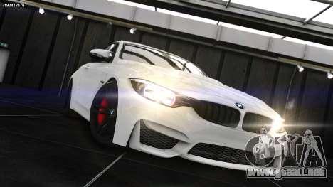 BMW M4 F82 2015 para GTA 4 left