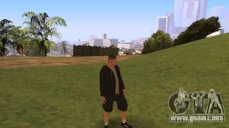 Time Animation para GTA San Andreas tercera pantalla