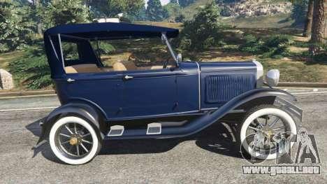 GTA 5 Ford Model T 1927 [Tin Lizzie] vista lateral izquierda