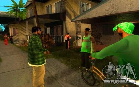 El avivamiento de la calle ganton para GTA San Andreas