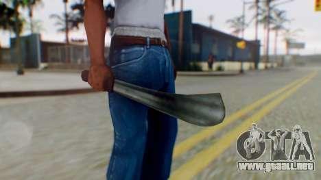 Vice City Machete para GTA San Andreas tercera pantalla