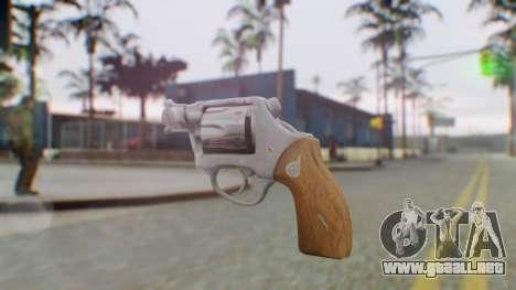 Charter Arms Undercover Revolver para GTA San Andreas segunda pantalla