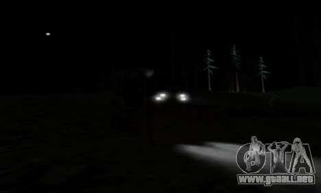 New Dozer para visión interna GTA San Andreas