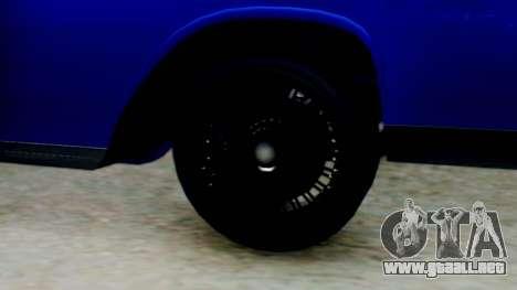 GTA 5 Vapid Chino Tunable IVF para GTA San Andreas vista posterior izquierda