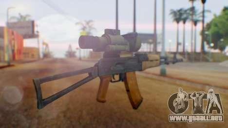 Arma OA AK-47 Night Scope para GTA San Andreas segunda pantalla