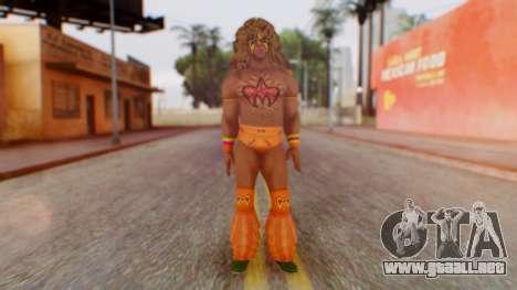 U Warrior para GTA San Andreas segunda pantalla