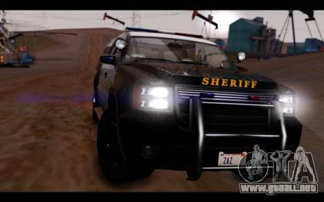 GTA 5 Declasse Sheriff Granger IVF para la visión correcta GTA San Andreas